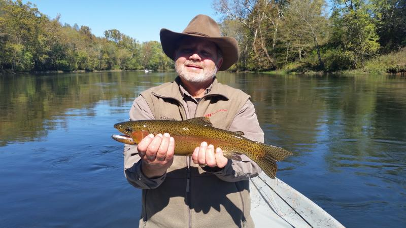 Trophy Rainbow Trout Fly Fishing With Rocky Top Anglers Knoxville TN