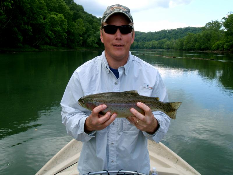 Trout live in gorgeous places and that certainley applies to Tennessee Trout