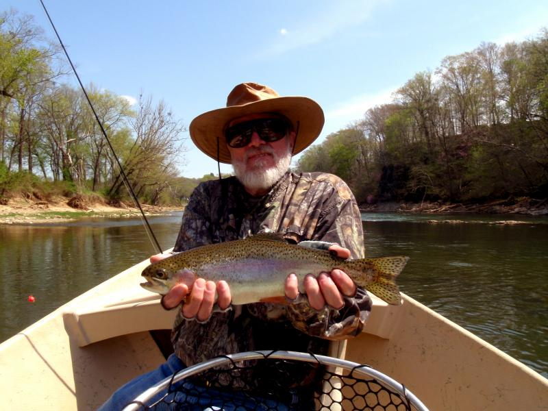 Fun times had while fly fishing for trophy trout in Tennessee near Knoxville.