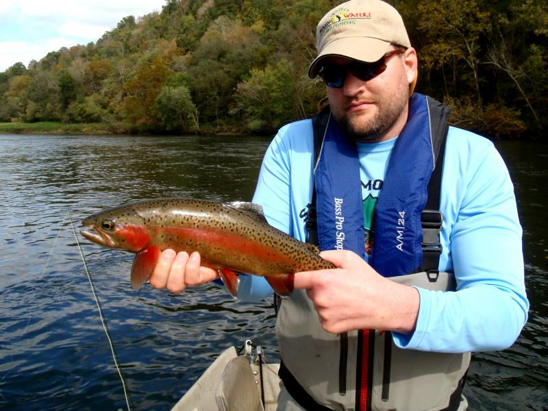 David Folkerts fished in the 2014 Grand Slam Challenge on the Clinch River