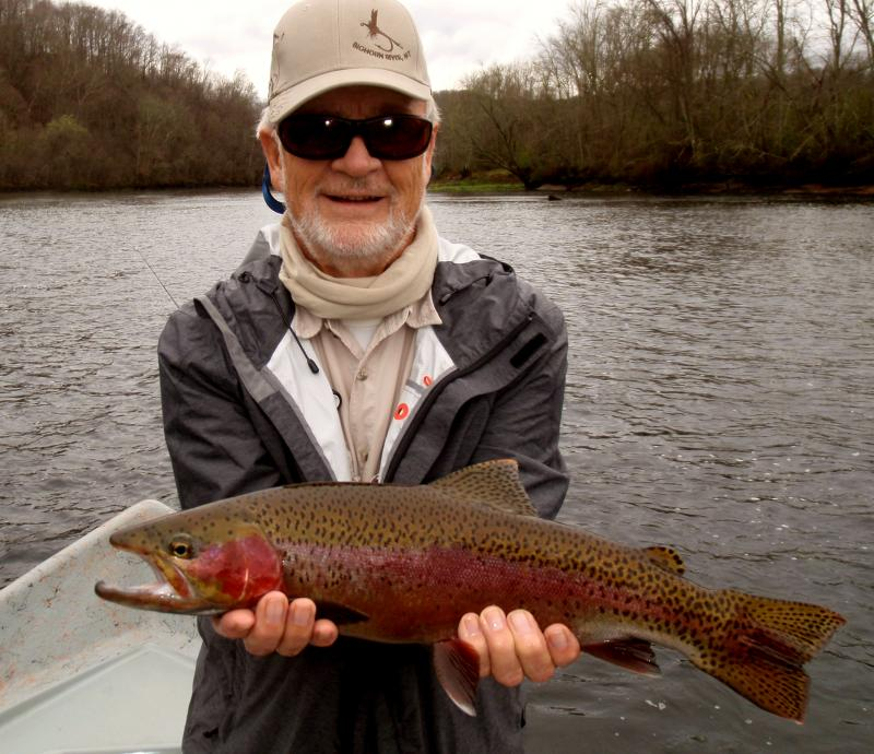 Tennessee Trophy Trout Tailwaters Fishing Guide Service Rocky Top Anglers