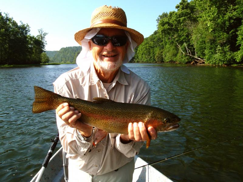 Trophy Trout Fishing in East Tennessee near Knoxville, Fishing Fly Guides