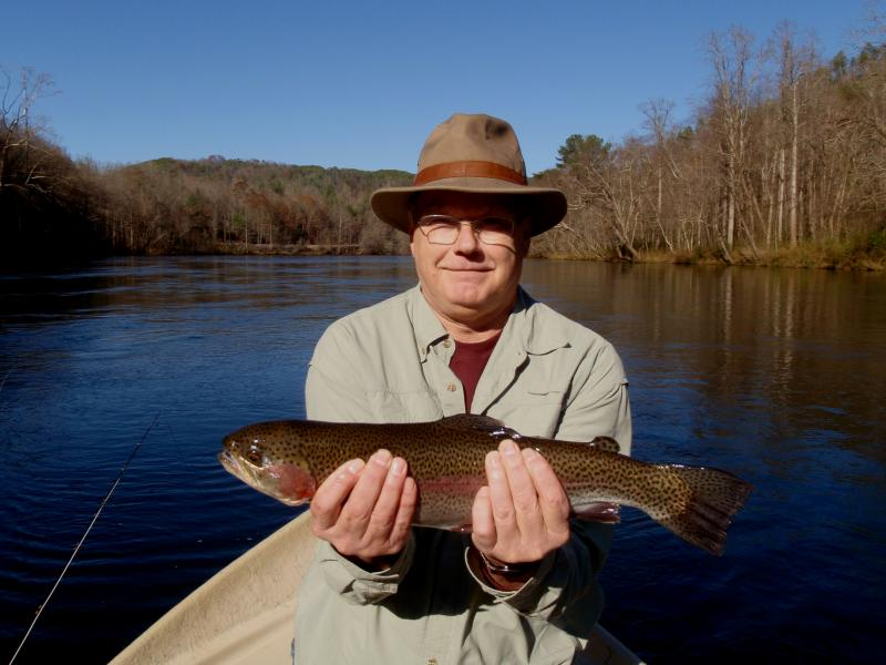 Hiwassee River Delayed Harvest Rainbow Trout