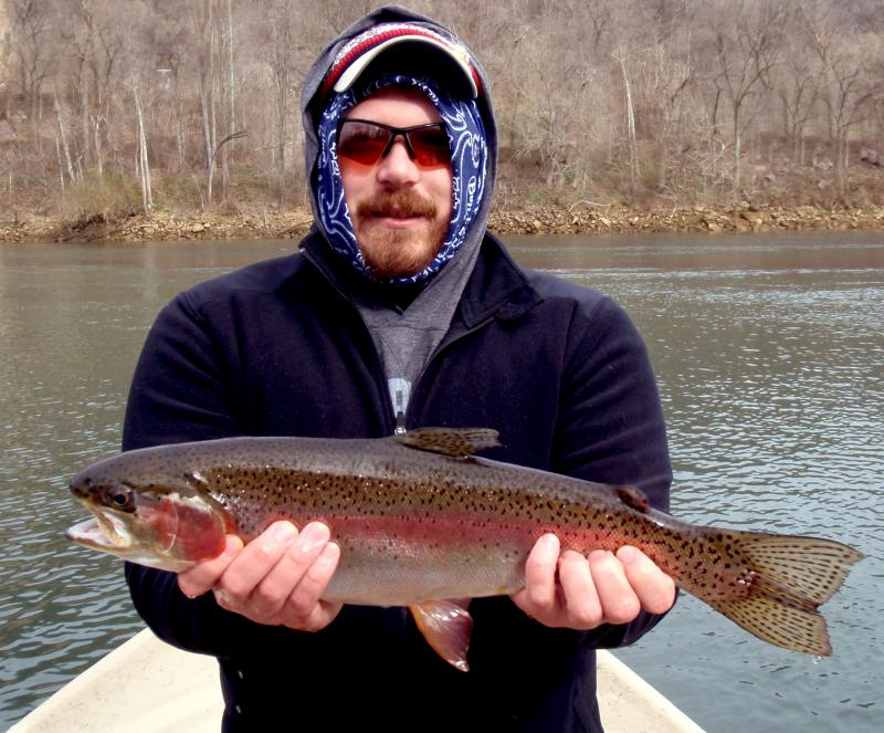 Tennessee trout fisheries at their best with fly fishing guide Rocky Cox