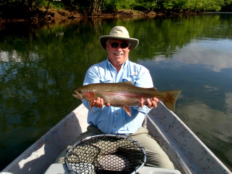 Guided Fly Fishing Trips in East Tennessee on the Clinch River