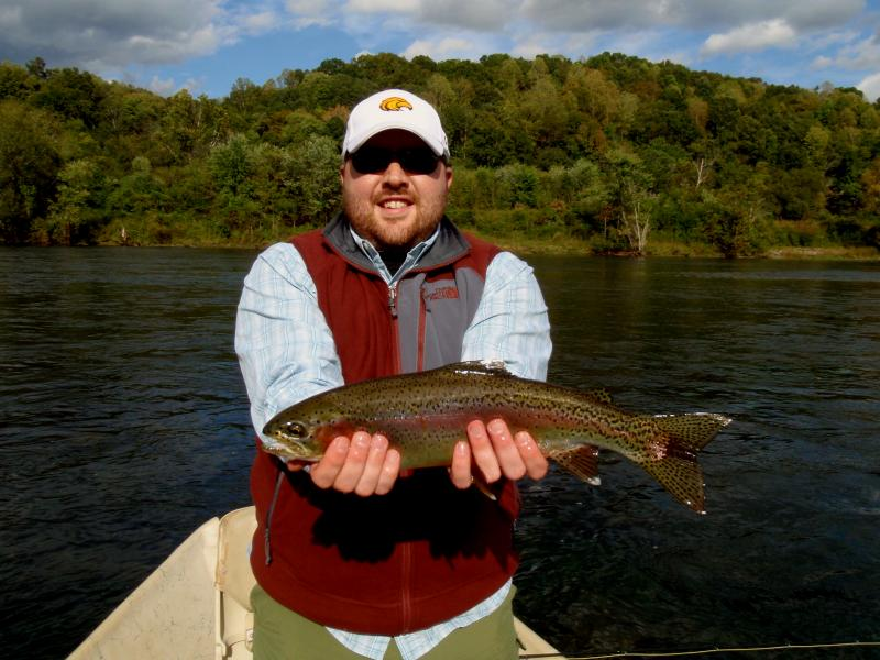 Tennessee Trophy Tailwater Fly Fishing for Trophy Rainbow Trout