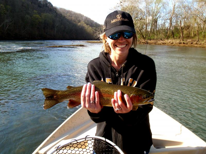 Tennessee Fly Fishing Guides Knoxville Rocky Top Anglers Rocky Cox