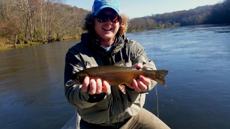 Trophy Trout Fishing Close to Knoxville Tennessee Fly Fishing Trout