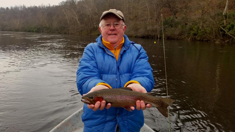 Tennessee Trophy Trout Tailwaters Guide Service Rocky Top Anglers