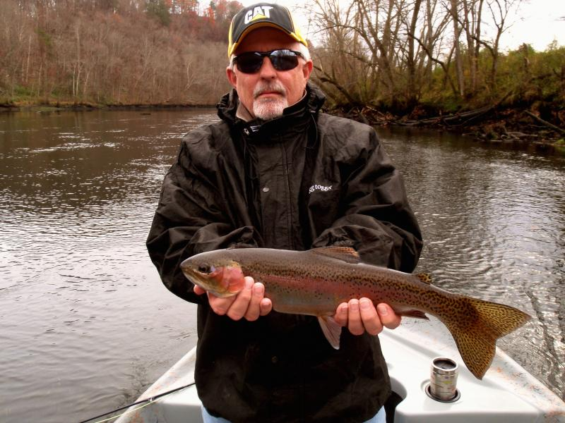 Guided Fly Fishing Trout Trips in Tennessee near Knoxville