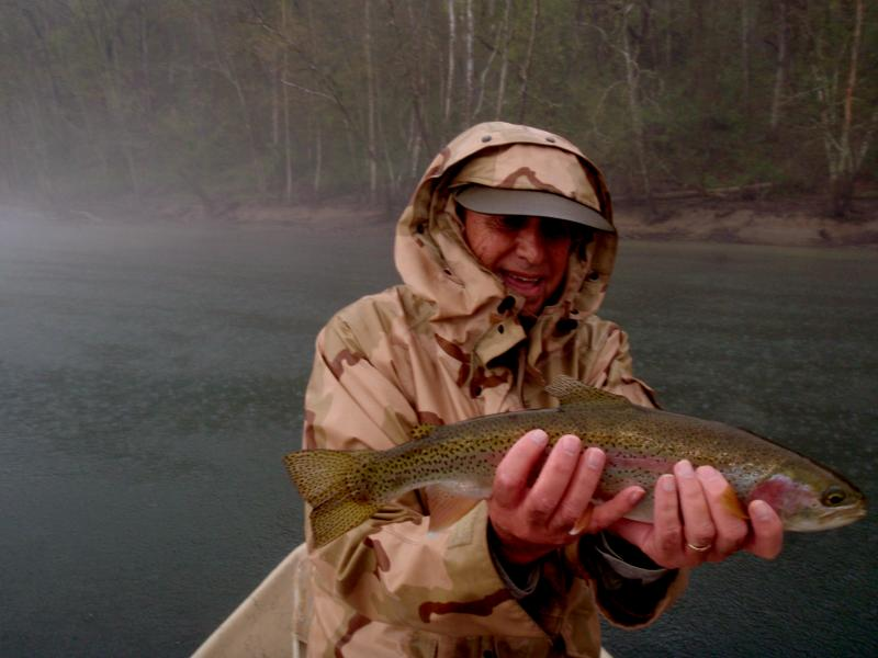 Rainy days can produce trophy fish when fishing Tennessee Tailwaters