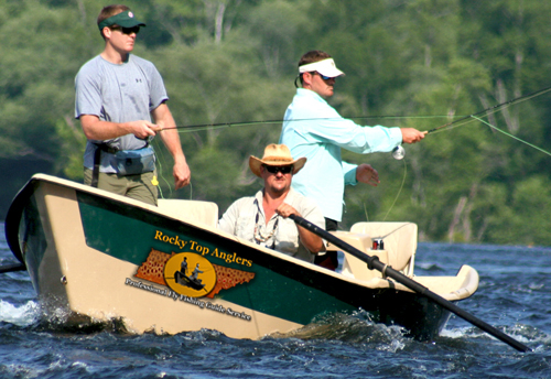 Rocky Top Anglers is Tennessee's foremost fly fishing guide service.