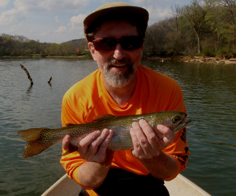 Driftboat fly fishing guides in east Tennessee