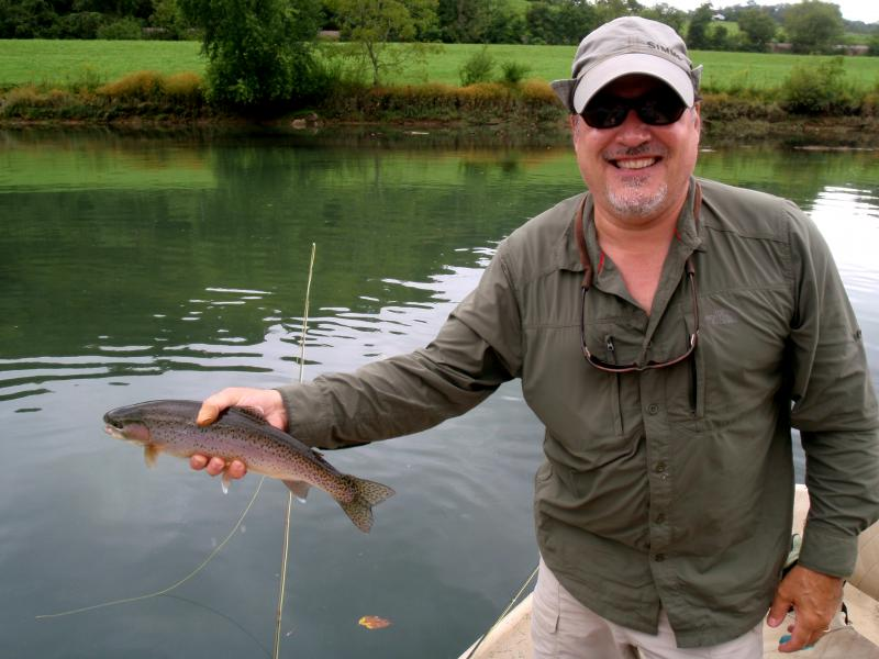 Fly fishing for trout is abundant in east Tennessee.