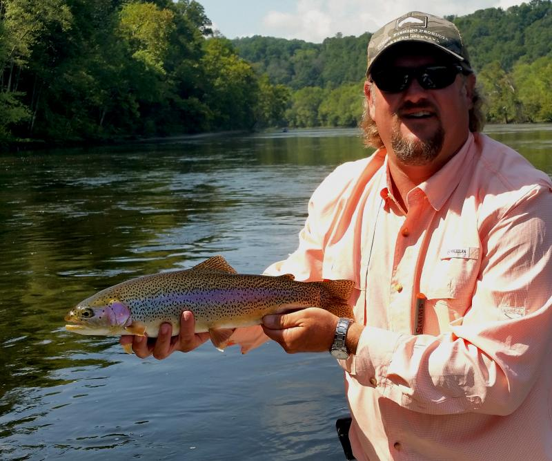 Rocky Top Anglers Rainbow Trout Trophies In East Tennessee