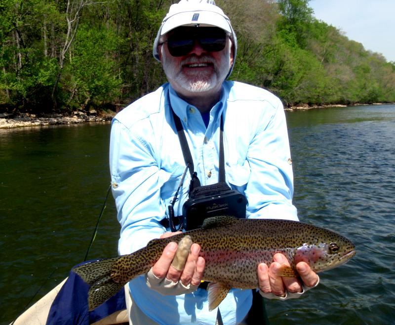 Guided Fly Fishing for trout, TN fly fishing guide for trophy trout.