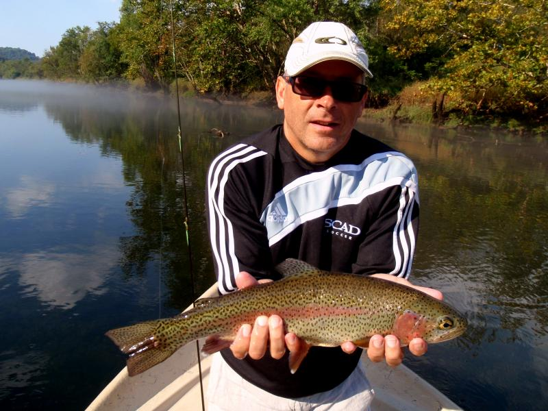 Quality fly fishing can be found here in Tennessee. It's the Montana of the east