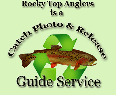 Rocky Top Anglers is a catch, photo and release guide service.