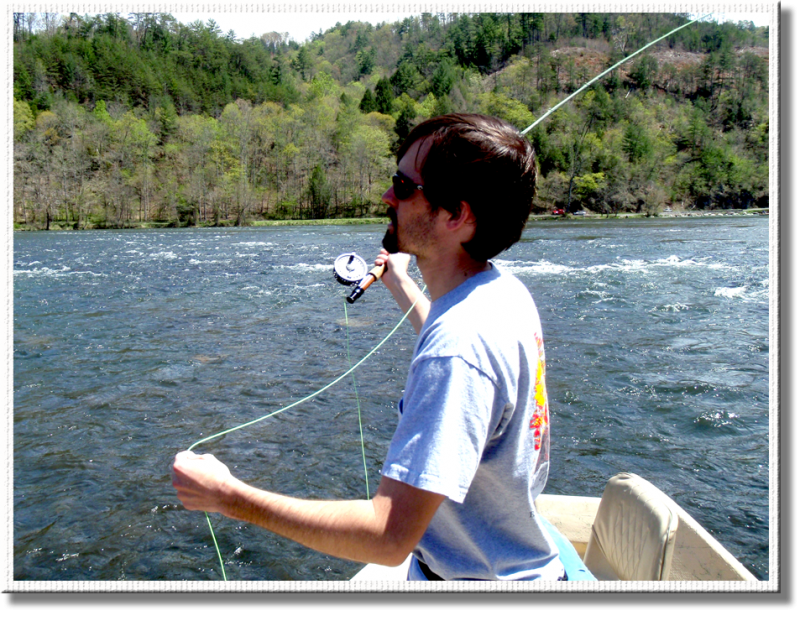 Fly Fishing the Hiwassee River with Rocky Cox