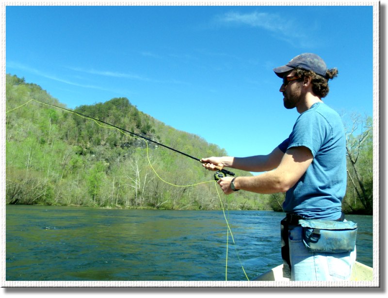 Fly Fishing the Hiwassee River with Rocky Top Anglers